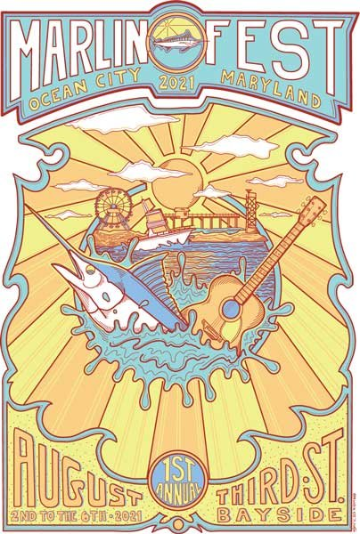 Marlin Fest event poster