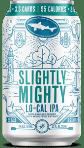 Dogfish Head Slightly Mighty Lo-Cal IPA beercan