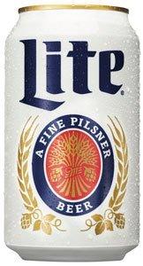 Miller Lite beer can